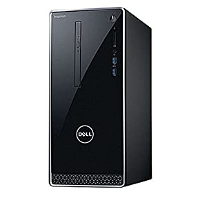 2017 Newest Dell Premium Business Flagship Desktop PC with Keyboard&Mouse Intel Core i5-7400 Processor 8GB DDR4 RAM 1TB 7200RPM HDD Intel 630 Graphics DVD-RW HDMI VGA Bluetooth Windows 10 Pro-Black