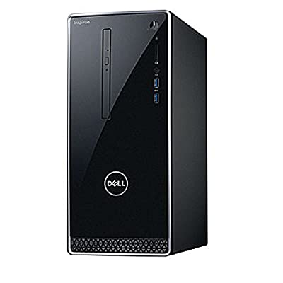 2017 Newest Dell Premium Business Flagship Desktop PC with Keyboard&Mouse Intel Core i5-7400 Processor 8GB DDR4 RAM 1TB 7200RPM HDD Intel 630 Graphics DVD-RW HDMI VGA Bluetooth Windows 10-Black
