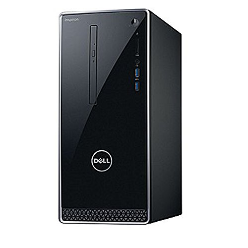 2017 Newest Dell Premium Business Flagship Desktop PC with Keyboard&Mouse Intel Core i5-7400 Processor 8GB DDR4 RAM 1TB 7200RPM HDD Intel 630 Graphics DVD-RW HDMI VGA Bluetooth Windows 10-Black by Dell