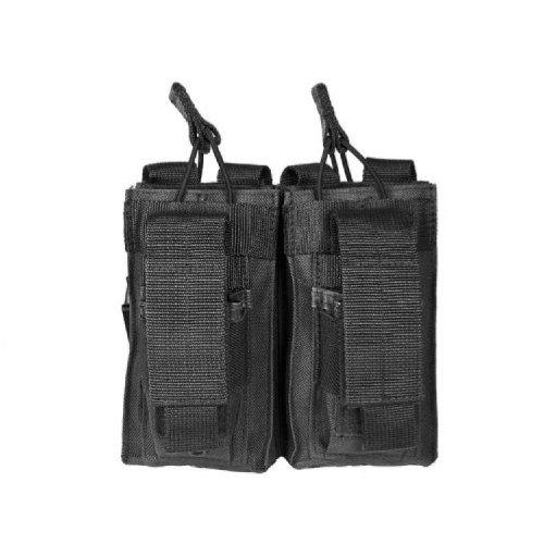 VISM by NcStar AR Double Mag Pouch (CVAR2MP2927B), Black