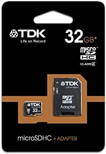 TDK T78725 - Tarjeta de Memoria Micro SDHC de 32 GB con Adaptador ...