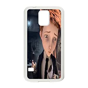 Printed Phone Case The Boy with the Cuckoo-Clock Heart For Samsung Galaxy S5 NC1Q02865