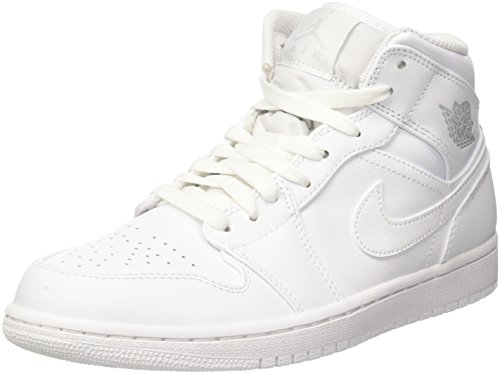 Chaussures Platinum Homme Multicolore 104 Nike White 1 Pure Jordan Noir de Mid white Basketball Air x0F7IqzHw