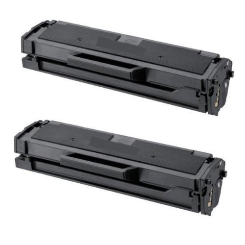 ShopAt247® Compatible Toner Cartridge Replacement for Samsung MLT-D101S/XAA ML-2165W, SCX-3405FW, SF-760P (Black, 2-Pack), Office Central