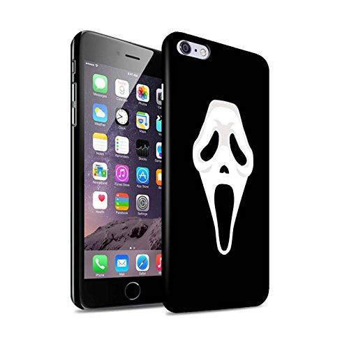 STUFF4 Gloss Hard Back Snap-On Phone Case for Apple iPhone 6+/Plus 5.5 / Scream Mask Inspired Art Design/Horror Movie Art Collection ()