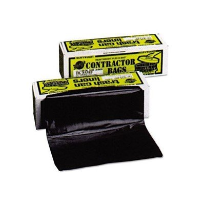 Warp's 55 Gallon Black 3 Mil Heavyweight Contractor Bags (30 Pack)