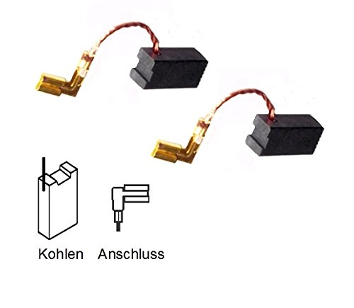 ULFATEC /® Kohleb/ürsten Motorkohlen f/ür LAMELLO Top 10 7115 SL 6,4x8x16mm LF 714 S 2111