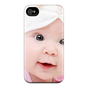 Tdx3448dKEp Case Cover, Fashionable Iphone 4/4s Case - Smiling Baby