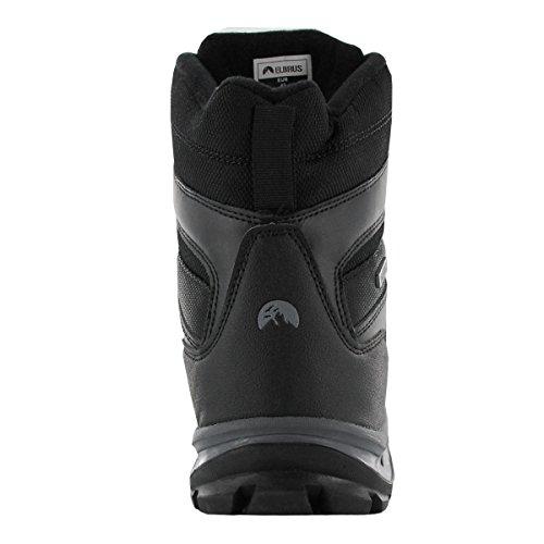 ELBRUS Men's Spike-Mid-Black-Dark-Grey Leisure Schwarz (Schwarz-Grau) Z4qdbgRJN