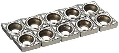 PIKA PIKA QIO 10pcs Carbide Insert CCGT060204-AK H01 Einsätze CNC-Werkzeug Drehen for Aluminium verwendet Drehwerkzeuge
