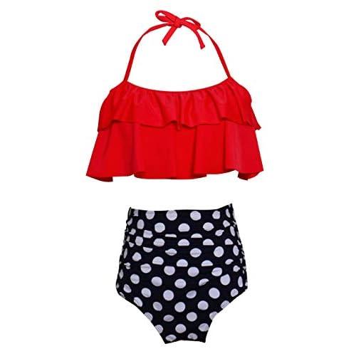 Etirel Moya Dots Bikinihose red