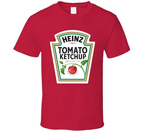 mens-heinz-tomato-ketchup-bottle-logo-funny-red-t-shirt-size-m