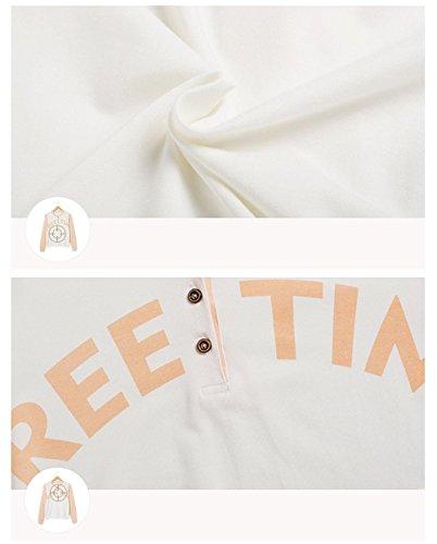 Manica lunga cotone pigiama vestaglia inverno nightwear Ultima donna che può essere indossato all'aperto