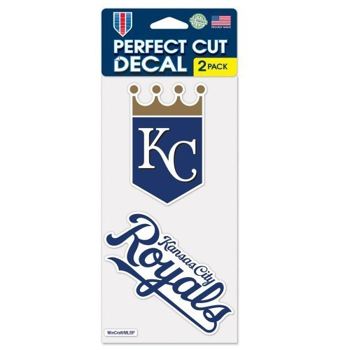 MLB Kansas City Royals 2-Piece Die-Cut Decal, 4