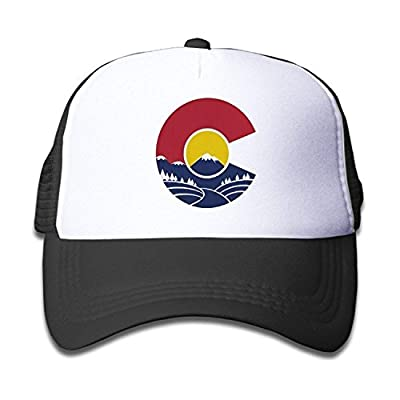 Rocky Mountain Colorado C Toddler Cool Baseball Hat Trucher Mesh Cap Great for Kids