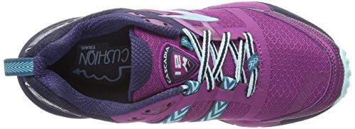 Para Cascadia Brooks De Multicolor Blue 12 Running Mujer Zapatillas plumnavyice C4TwFqp