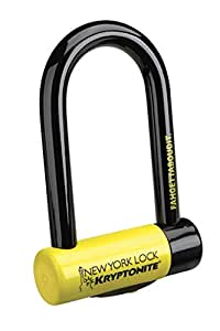 Kryptonite 997986 18mm New York Fahgettaboudit U-Lock,Black Mini