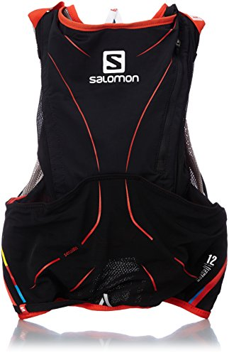 Salomon S-Lab Advanced Skin 3 12 Set Racing Vest (XS/S) - ALUMINIUM/BLACK/RACING RED