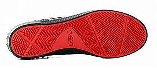 Nike Heren Lebron Xiii Lifestyle Nsw Schoenen Rubber City Zwart Rood 806396 001 Maat 7