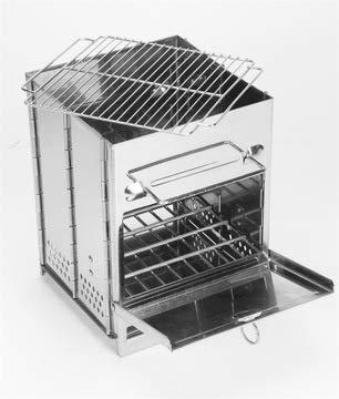 Horno grill Grill equipo al aire libre estufa de leña estufa de ...
