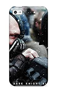 For Iphone 5c Premium Tpu Case Cover The Dark Knight Rises 52 Protective Case