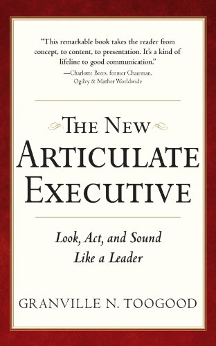 the-new-articulate-executive-look-act-and-sound-like-a-leader-business-skills-and-development