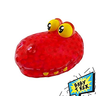 Orb Toys Ryan's World Bubble Pal Baby T-Rex, Red, Black, Yellow: Toys & Games