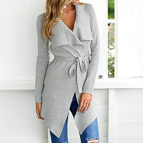 SMALLE ◕‿◕ Clearance,Women Ladies Long Sleeve Cardigan Coat Suit Top Open Front Jacket Outwear by SMALLE (Image #5)