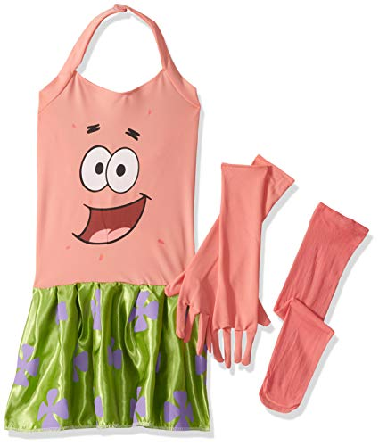 SpongeBob Squarepants Girl's Patrick Costume,