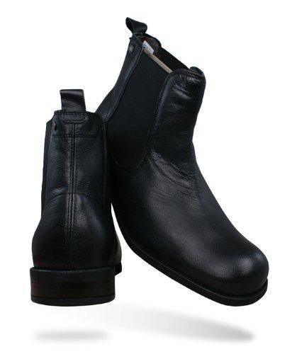 e1e135064b5 Base London Copper hommes Cuir Chelsea Ankle Boots - noir - SIZE EU 42   Amazon.fr  Chaussures et Sacs