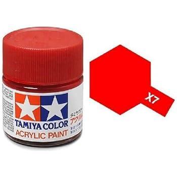 Tamiya Models X-7 Mini Acrylic Paint, Red