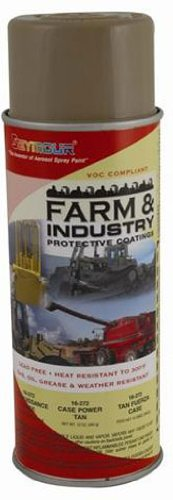 Seymour 16-272 Farm and Industry Enamel Spray Paint, Power Tan