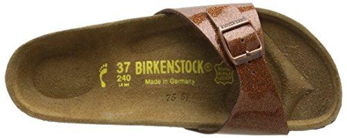 BirkenstockMadrid - Zuecos Mujer Marrón (Magic Galaxy Brown)