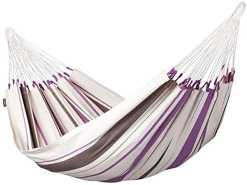 LA SIESTA Caribe a Purple – Cotton Single Classic Hammock