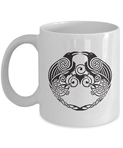 Viking Symbol Coffee Mug - Vikings Floki Costume