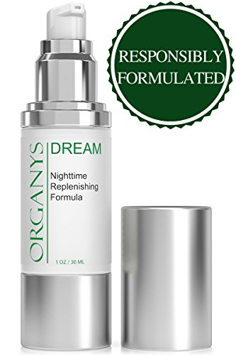 Organys Anti Aging Night Cream Face Moisturizer Improves The Appearance of Wrinkles Fine Lines Making The Skin Look Firmer And Tighter On The Face Forehead Neck Chest Natural Best Retinol