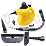 LINLUX Handheld Pressurized Steam Cleaner-450ML Large Capacity, with 9-Piece Accessory Set, Chemical-Free Steam Cleaning for Home, Auto, Patio, More
