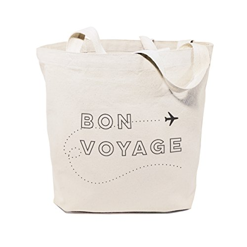 - The Cotton & Canvas Co. Bon Voyage Beach, Shopping and Travel Resusable Shoulder Tote and Handbag