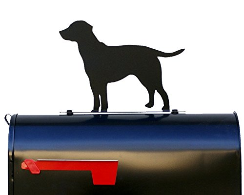 NewnanMetalWorks Labrador Retriever Mailbox Topper/Sign / Plaque - Mail Box - Made in - Labrador Accessories Retriever Decorative