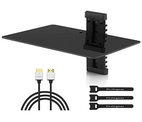 Single Floating DVD DVR Shelf product image