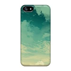 Excellent Design Blue Sky Phone Case For Iphone 5/5s Premium Tpu Case