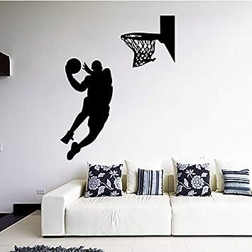 Jugador de baloncesto Adhesivos de pared Dormitorio para niños ...