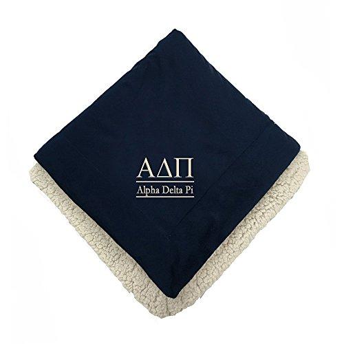 Alpha Delta Pi Sherpa Throw (Alpha Blanket)