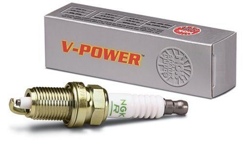 Price comparison product image NGK (6630) UR4 V-Power Spark Plug,  Pack of 1