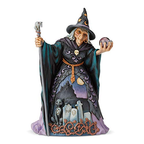 Enesco Jim Shore Heartwood Creek Witch with Crystal Ball ()