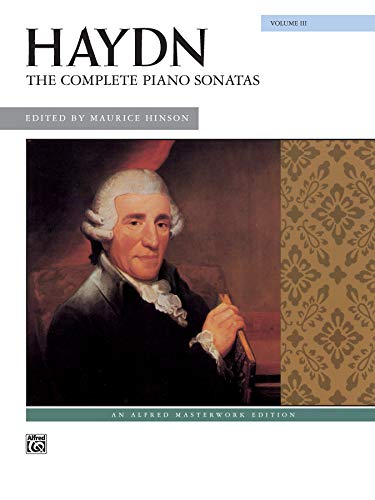 The Complete Piano Sonatas, Vol 3 (Alfred Masterwork - Keyboard Sonatas 3