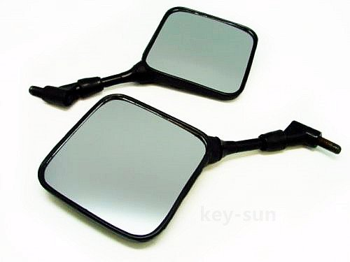 Key-Sun Dual Sport Motorcycle Mirrors for Honda XL XR 200 250 400 600 650 XR600R XR650L Pair (Honda Xr 600)