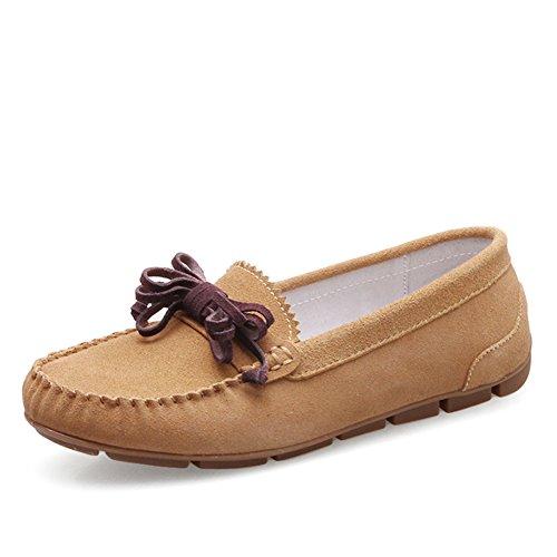 Zapatos De Mujer De Estilo Británico,Manoletinas,Mujer Casual Zapatos De Cuero De La Luz,Zapatos Del Bromista Del A