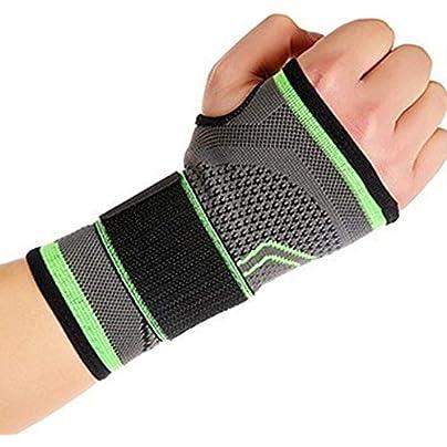 caijianscvx High Elastic Bandage Wristband Wrist Brace Wrist Support Sport Gym Wristband Estimated Price £1.76 -