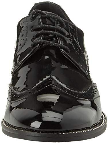 Nero de Brogue para Negro Zapatos 6 Mujer Cordones BATA 5216470 wTCOEqE7
